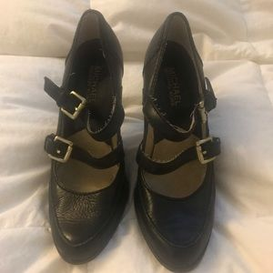 Michael Kors buckle pumps 6.5